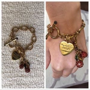 Toggle Charm Bracelet - Juicy Couture